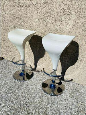 White Modern Bar Stools/ Stools for Sale in Las Vegas, NV