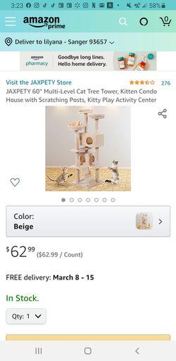 Cat Tree In Box for Sale in Sanger,  CA