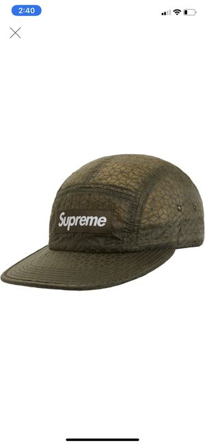 Supreme Geometric Ripstop Camp Cap for Sale in New York, NY