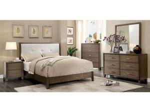 I have this nice queen bedrooms set same as a picture Ready for pick up today I have 5 new in box $899 for Sale in Fresno, CA