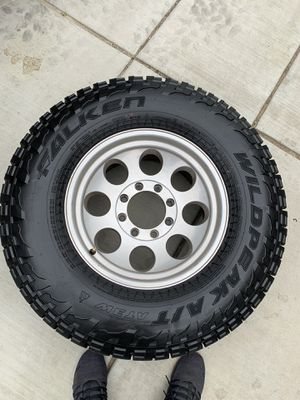 "8x170 wheels/brand new tires 35"" for Sale in Fontana, CA"