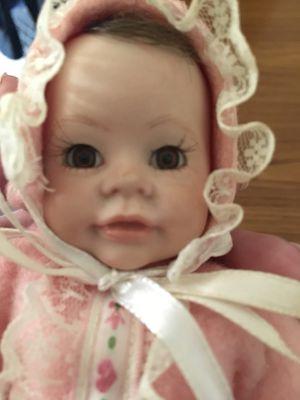 Vintage Porcelain faced doll. Adorable for Sale in Morgantown, WV
