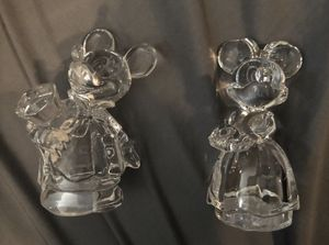 Lenox Classics Mickey Minnie Disney Salt and Pepper Shakers for Sale in Lake Wales, FL