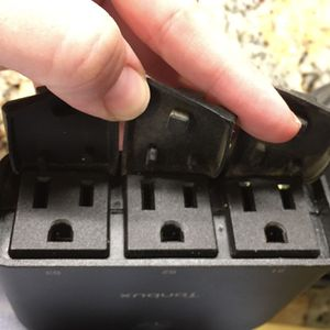 Christmas Lights Controller Timer Outdoor WiFi Smart 3-way Plug (4 sets Of 3 Outlets Each) for Sale in Laguna Woods, CA