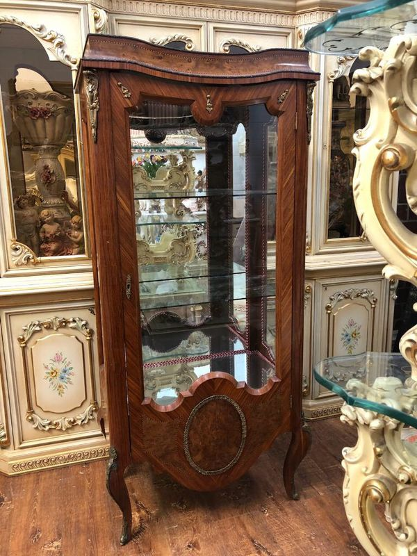 Antique curio china hutch cabinet. check my other items