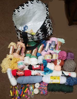 Yarn, Ribbon, Thread Lot for Sale in Milton, FL