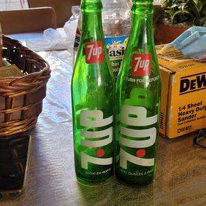 Vintage 7 up bottles 16 oz for Sale in Spring Valley, CA