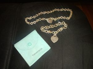 Tiffany & Co. Jewelry - Matching Charm necklace and bracelet..Cash only for Sale in Longwood, FL