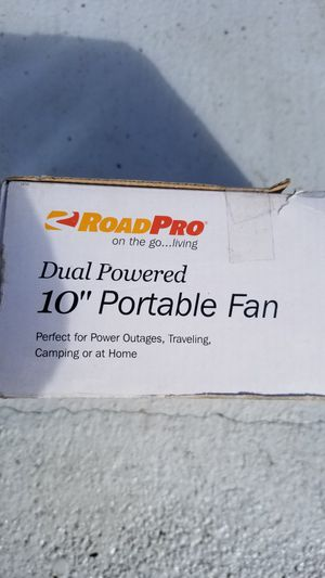 """10"""" portable ac fan for Sale in Vancouver, WA"""
