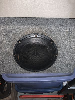 Speaker, box, and amp for Sale in Eustis, FL