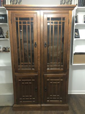 Entertainment center cabinets for Sale in Prattville, AL