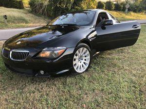 2004 BMW 645ci for Sale in Nashville, TN