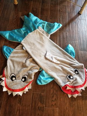Shark snuggie blankets for Sale in Fort Worth, TX