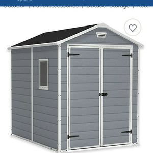 KETER 6X8 STORAGE SHED RETAIL $679.00 for Sale in Ontario, CA