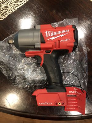 M18 FUEL ONE-KEY 18-Volt Lithium-Ion Brushless Cordless 1/2 in. Impact Wrench with Friction Ring (Tool-Only) for Sale in Whittier, CA