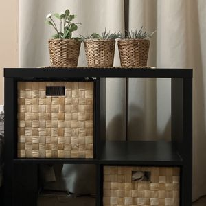 Shelf Unit With Two Storage Boxes for Sale in Falls Church, VA