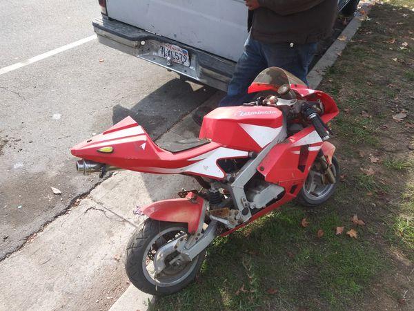 X1 pocket bike