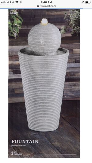 "27"" LED Pedestal Ball Fountain by Ashland for Sale in Fresno, CA"
