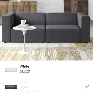 Modular Sofa In 2 Pcs - Only Used For 4 Mos for Sale in Portland, OR