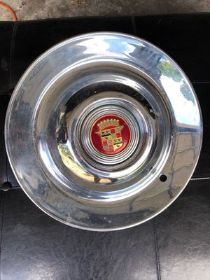 Cadillac Hubcap (one) vintage. circa 1960s for Sale in Manchester, MO