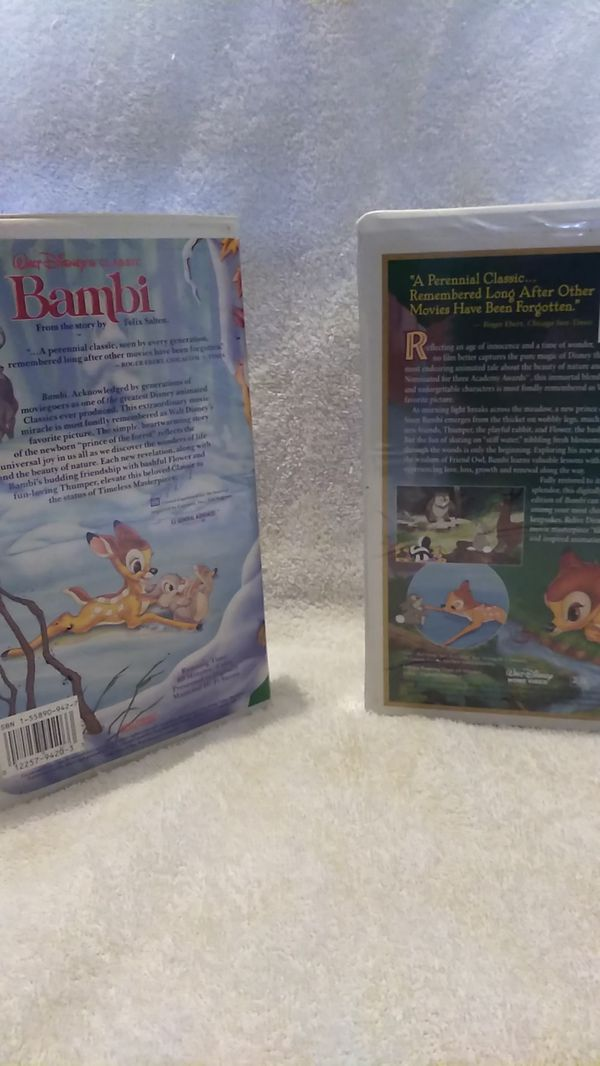 Bambi special edition and limited edition