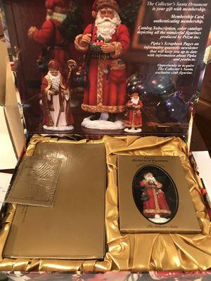 Pipka Decorative Keepsake Box Collection 2001 St. Nicholas/The Collector Santa for Sale in Victoria, VA