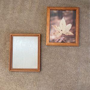 2 Wooden Photo Frames for Sale in Sanger, CA
