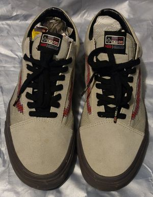 VANS NINTENDO GAME OVER Men's Sz 10 Women's 12 Skate Shoes Sneaker color Console/ Dove for Sale in TN OF TONA, NY