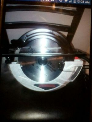 Brand New still in the box MasterCraft tools, circular and reciprocating saw, drill, bits, for Sale in Troy, NY