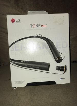 Lg time pro wireless headphones for Sale in Houston, TX