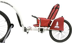 Weehoo igo blast bike trailer for Sale in Bloomfield, NJ
