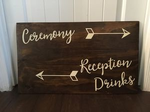 Wedding Sign for Sale in Fort McDowell, AZ