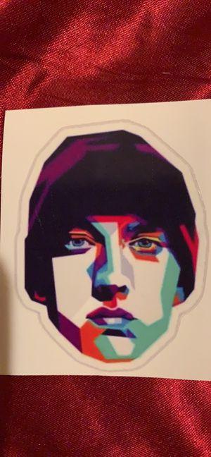 Two Eminem Vinyl Stickers for Sale in Avis, PA