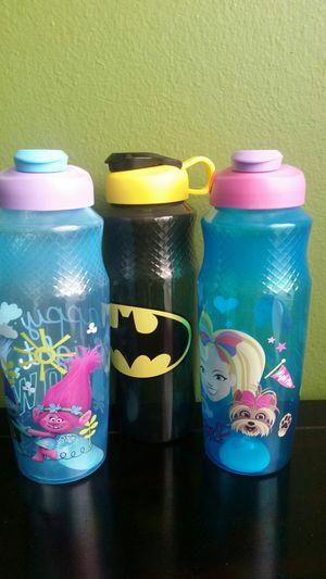 Kids plastic bottles (new) for Sale in Houston, TX