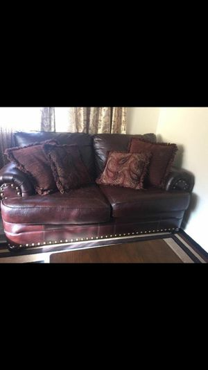 3 Piece Poly Leather Sofa For In Rochester Ny