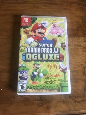 Super Mario bros. U DELUXE Nintendo switch for Sale in Cleveland, OH
