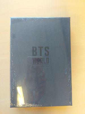 (new)BTS World Original Sound Track CD & Poster for Sale in Washington, DC