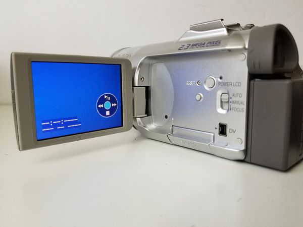 Panasonic PV-GS150 3CCD Mini DV Camcorder with Accessories and Manual