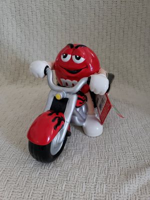 M&M Riding motorcycle ceramic candy dish, new. See desc for Sale in Manassas, VA