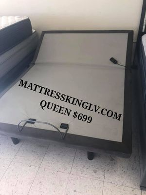 Power adjustable queen base beds on sale for Sale in Las Vegas, NV