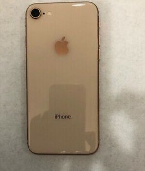Gold iPhone 8 with accessories for Sale in Columbus, OH
