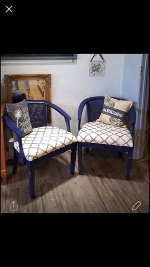 Cane back chairs for Sale in Lawton, OK