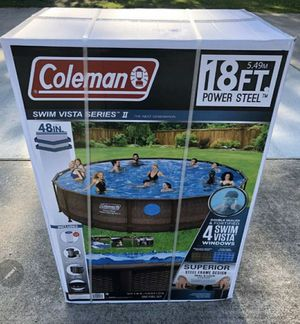 """Brand new coleman pool 18' x 48"""" for Sale in Oviedo, FL"""