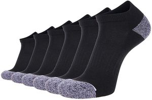 6 Pack Men's Athletic Ankle Socks Moisture Wicking Cushioned Sports Socks for Men for Sale in New York, NY