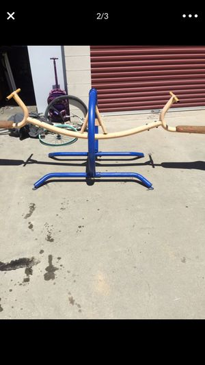 Seesaw commercial grade better and stronger than schools have for Sale in Chino, CA