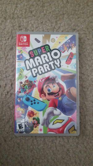 Super Mario Party - Nintendo Switch for Sale in Alexandria, VA