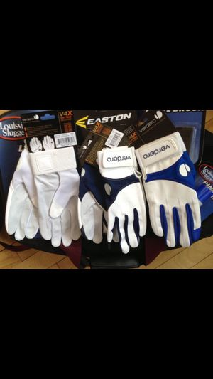 Batting gloves and more. for Sale in Atlanta, GA