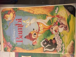 Bambi original VHS tape for Sale in Phoenix, AZ