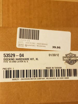Harley Davidson Motorcycle Docking Hardware Kit for Sale in Willoughby, OH