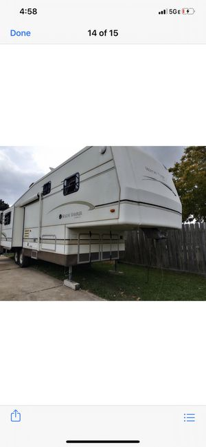 Hoiladay rambler travel trailer triple slide ready to go title In hand taking offers for Sale in Houston, TX
